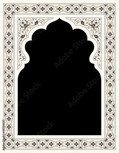 Photo  Agra Floral Frame