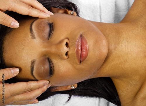Fotografie, Obraz  Facial/Head Massage