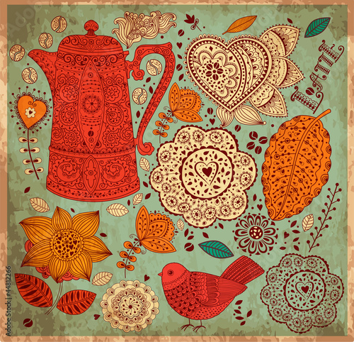 vintage-vector-background-with-coffee-pa