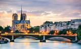 Fototapeta Paryż - Notre Dame de Paris, France