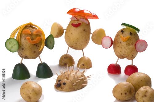 Creative fun - Potato figures