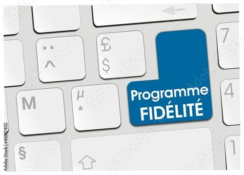 Photo clavier programme fidélité