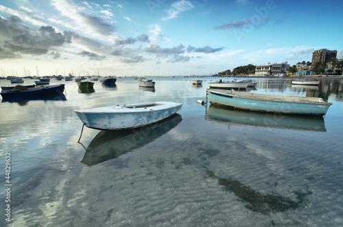 barcas en el Mar Menor