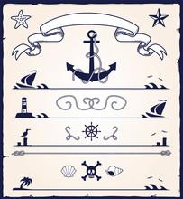 Nautical / Marine Design Elements