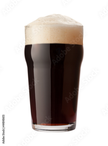Valokuva English Stout Isolated with clipping path