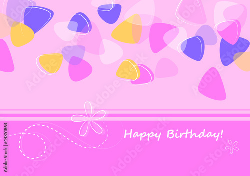 Geburtstagskarte Text 18.Geburtstagskarte Rosa Buy This Stock Vector And Explore