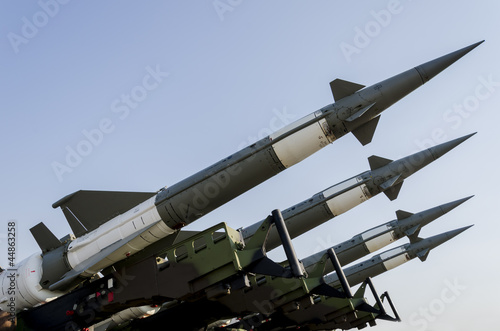 Canvas-taulu Air force missile system