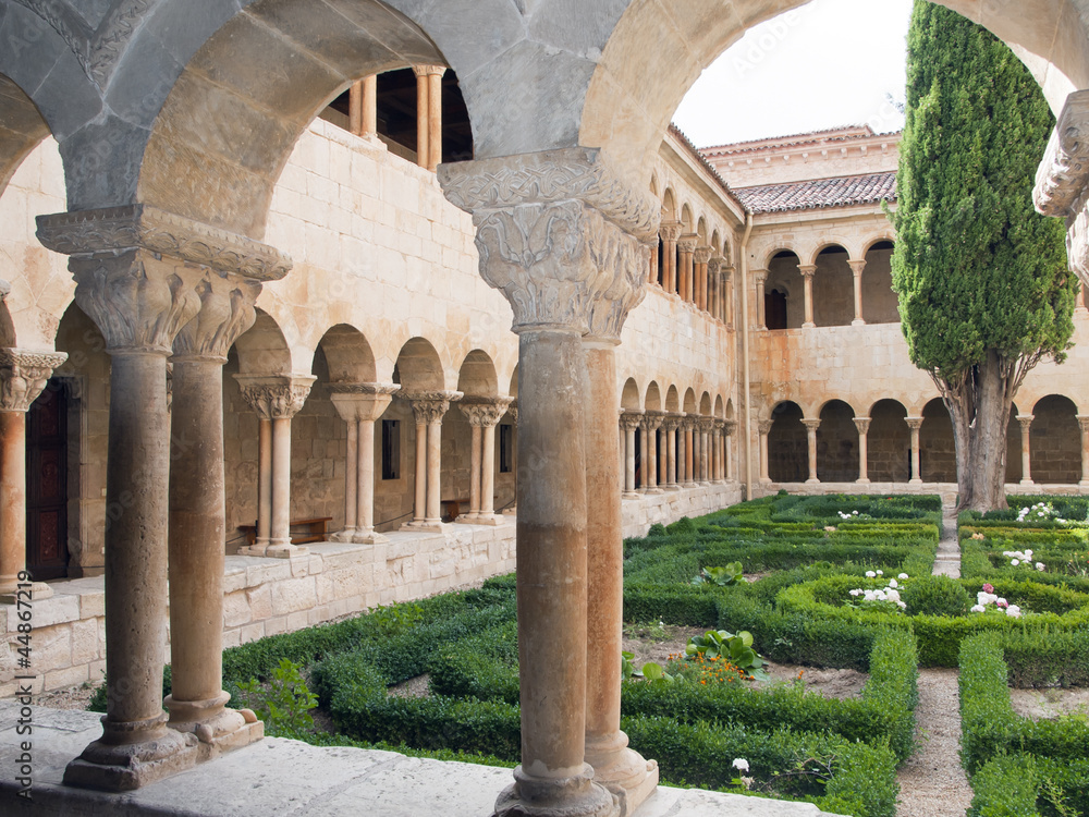 Fototapety, obrazy: monasterio de silos,burgos,españa
