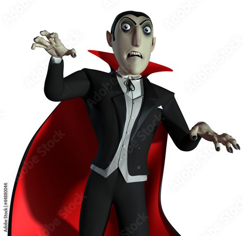 Tuinposter Sweet Monsters Count Dracula