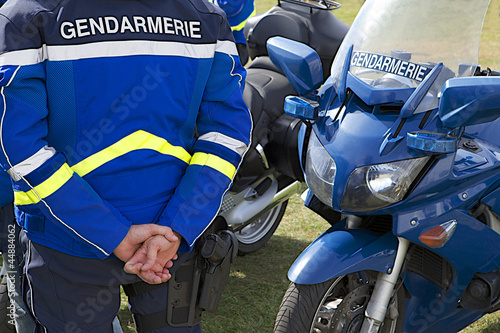 Fotografía  Gendarmerie - Contrôle routier