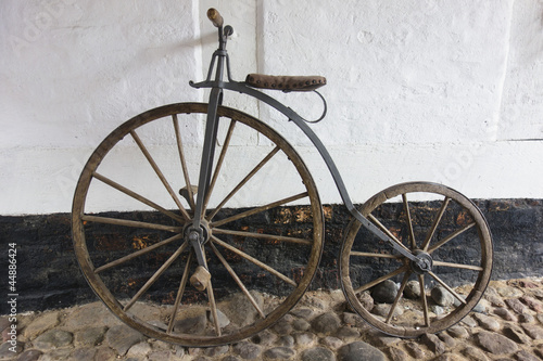 Türaufkleber Fahrrad Penny-Farthing Bicycle
