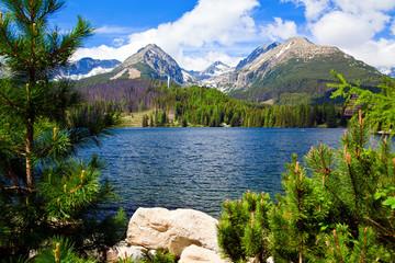 Fototapeta Lake in Slovakia