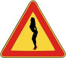 Attenzione, Donne Sulla Strada