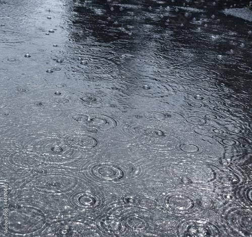 Fotografie, Obraz  rain on a street
