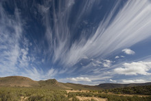 Spectacular Clouds Over The Landscape, Aquila, South Africa