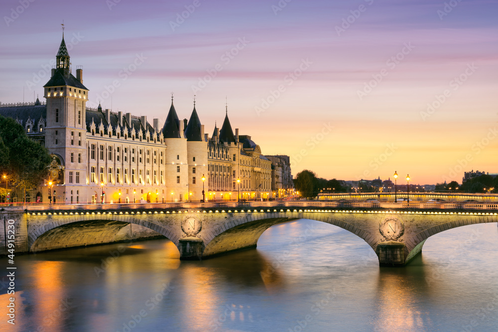 Fototapety, obrazy: Paris, Conciergerie