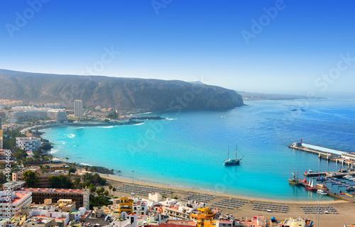 Los Cristianos beach in Arona Tenerife south