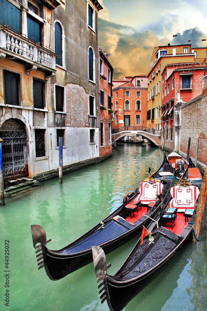Fototapeta beautiful Venice urban landscape