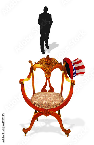 Empty Presidential Chair. Fototapeta