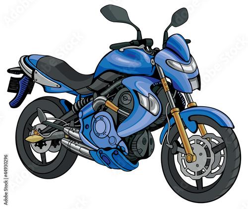 Poster Motocyclette Super Motorbike
