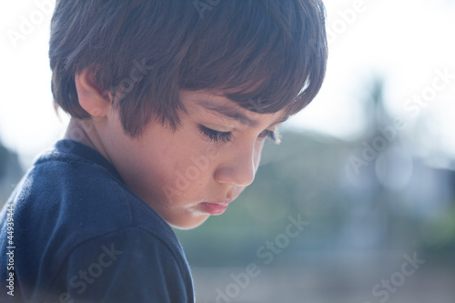 Fotografía  bambino triste