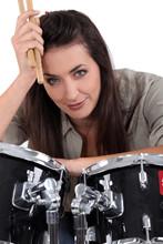 Female, Drummer