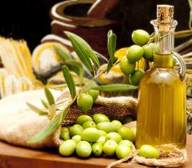 Fototapeta Do restauracji olio e olive