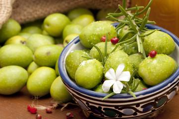 Fototapeta Do restauracji olive