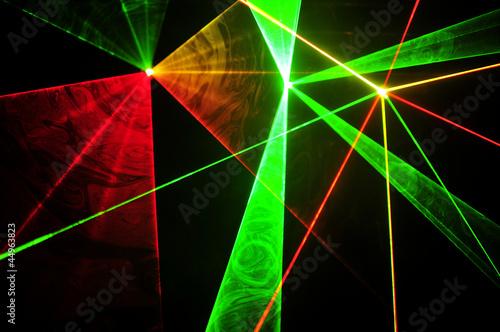 Lasery - fototapety na wymiar