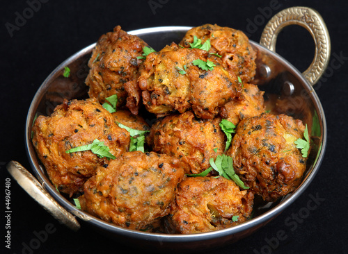 Photo Indian Vegetable Pakora Food