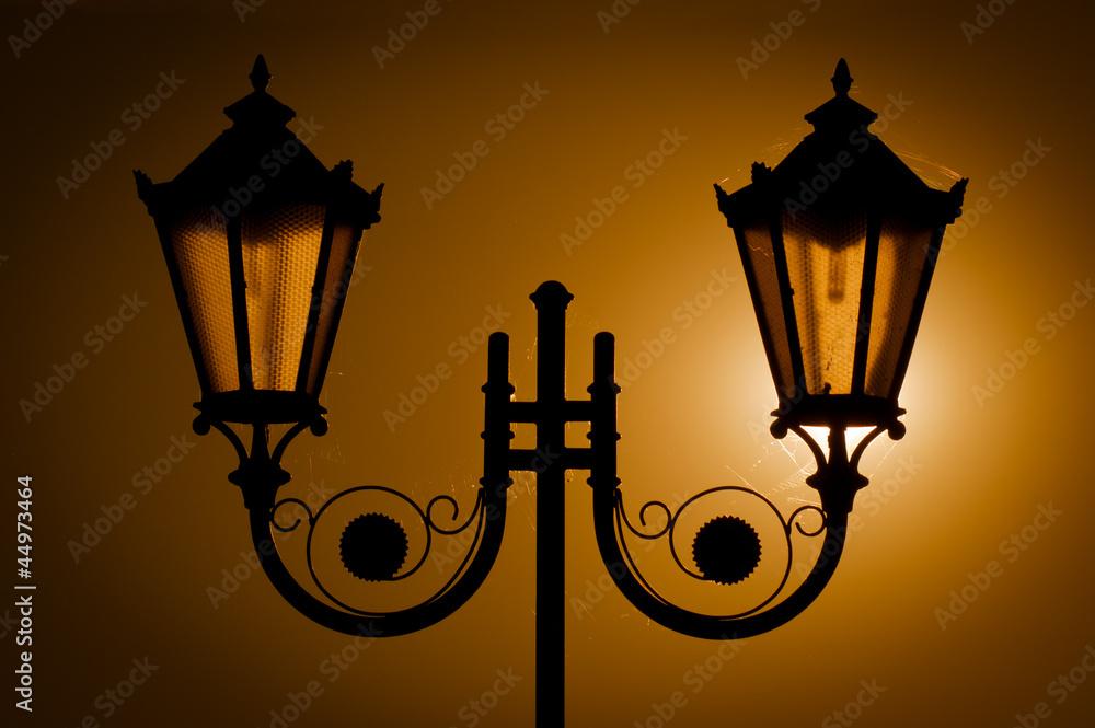 Fototapety, obrazy: Street lamps