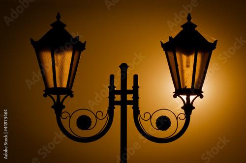 Fototapeta Street lamps obraz