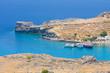 Beautiful bay near Lindos