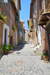Alleyway. Capranica. Lazio. Italy.