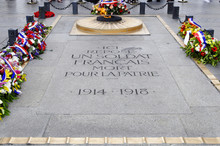 The Flame Of The Unknown Soldier In Paris
