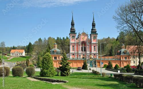 Obraz die berühmte Wallfahrtskirche Swieta Lipka in den Masuren - fototapety do salonu
