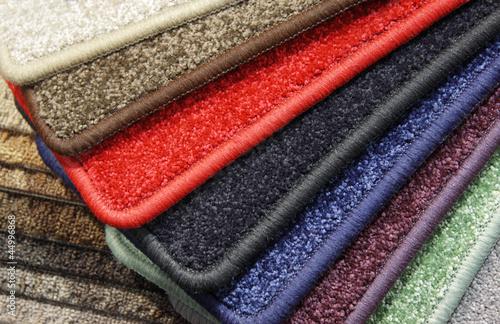 Samples of carpet Canvas