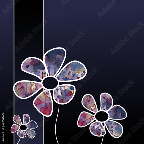 kartka-dekoracyjna-z-kwiatami