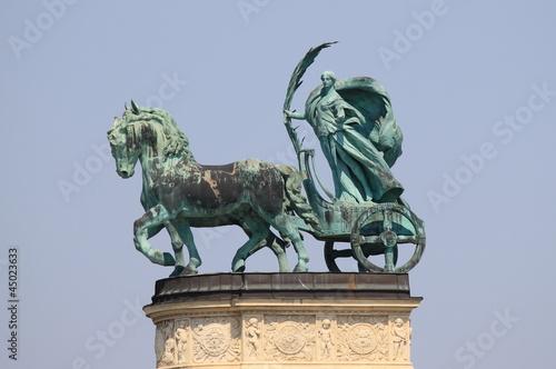 Fotografija  Allegorical statue of Peace