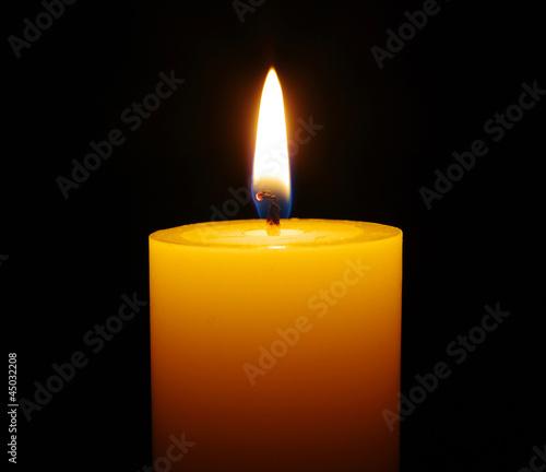 Fototapeta burning candle obraz na płótnie