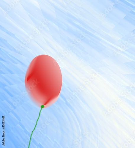 Photo  palloncino in volo
