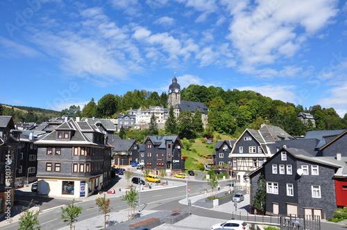 Photo Lauscha im Thüringer Schiefergebirge
