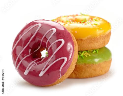 Murais de parede baked doughnuts