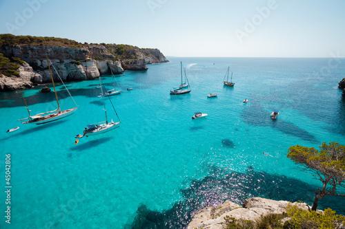 Foto-Rollo - Menorca - Macarella - Macarelleta (von tagstiles.com)