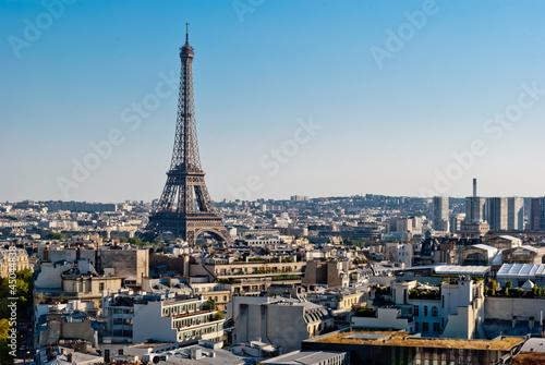 Papiers peints Paris Paris, Tour Eiffel view from Triumphal Arch