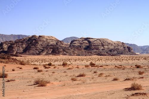 Fotobehang Midden Oosten Das Wadi Rum