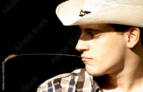 Fotografie, Obraz  cowboy  portrait