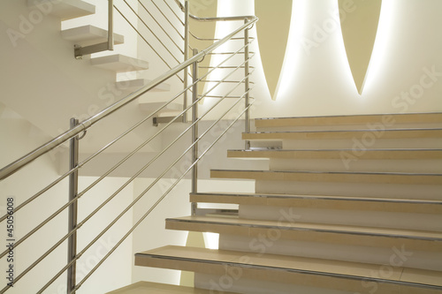 Poster Trappen Light stairs