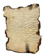 Grunge Paper With Charred Edges