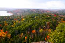 Autumn Colors Algonquin Provincial Park In Ontario, Canada